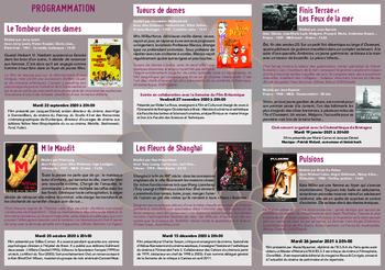 Cycles Films du Répertoire 2020-2021