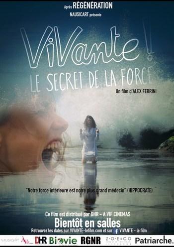 """lundi 26/10/2020 à 20H : projection """"VIVANTE"""" à l'issue de la séance rencontre avec Alex FERRINI, réalisateur."""