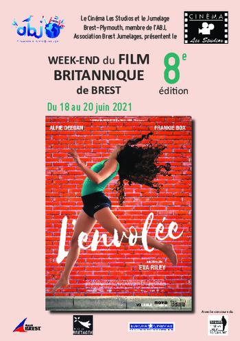 du 18 au 20 juin 2021 :8è Edition du Weed-End du Film Britannique