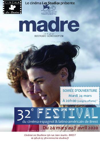 32è Festival du cinéma Espagnol & Latino-Américain de Brest du 24 mars 7 avril 2020