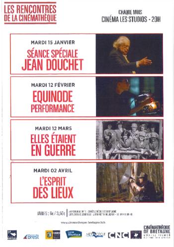 """mardi 15/01 à 18H : projection """"Jean Douchet, l'enfant agité""""  à l'issue de la séance rencontre avec Jean Douchet."""