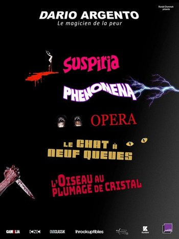 "mardi 29/10 à 20h : projection ""SUSPIRIA"""